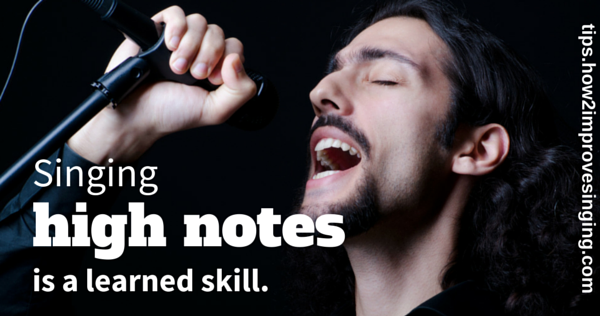 singing high notes is a learned skill picture