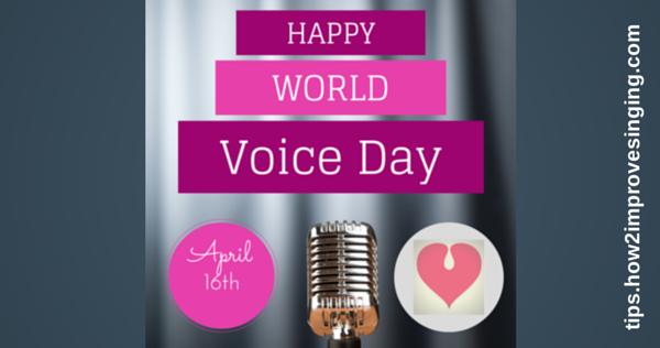 happy world voice day