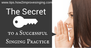 singing practice