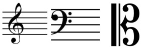 music theory clefs