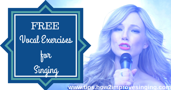 vocal exercises for singing