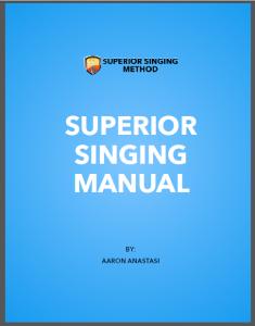 Superior Singing Manual