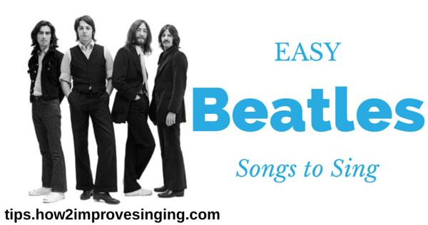 Easy Beatles Songs to Sing