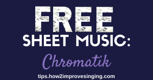Free Sheet Music Chromatik