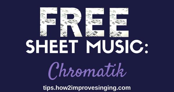 Free Sheet Music Chromatik
