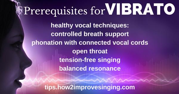 vibrato - how to develop vibrato