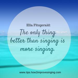 singing quotes 2014