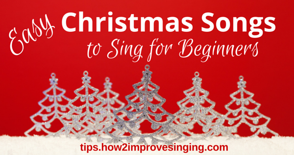 easy Christmas songs to sing