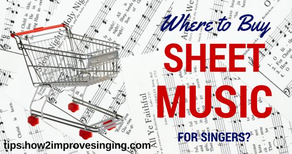 where to buy sheet music