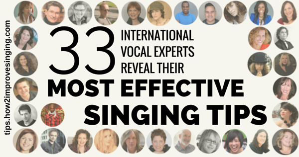 33 experts reveal their singing tips