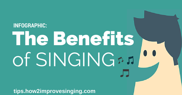 Infographic benefits of singing