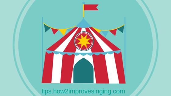 Singing posture - tent