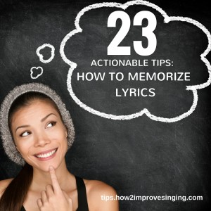 23 memory techniques: how to memorize lyrics