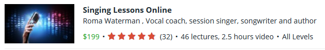 learn singing online