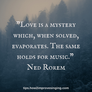 Love and music quote