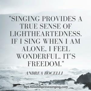 Andrea Bocelli quote