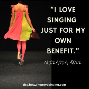 5-I love singing