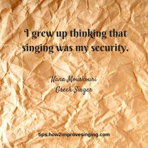 Nana Mouskouri quote