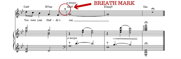 breath mark