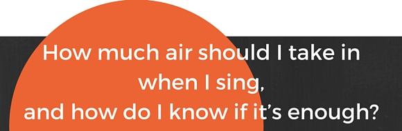 breathing and singing question 12