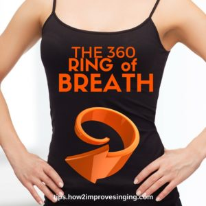 breathing exercises for singing: 360 ring of breath