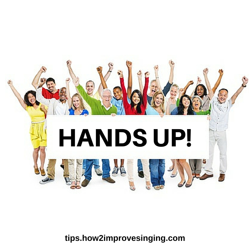the hands up technique