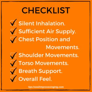 breathing checklist