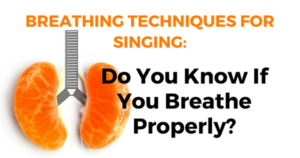 breathing technique for singing