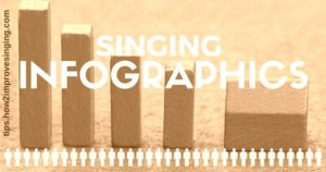 singing infographics page